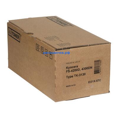 Картридж TK-3130 для Kyocera FS-4200, FS-4200DN, FS-4300DN, FS-4300, EcoSYS M3550idn, M3560idn (Elfotec) с чипом фото
