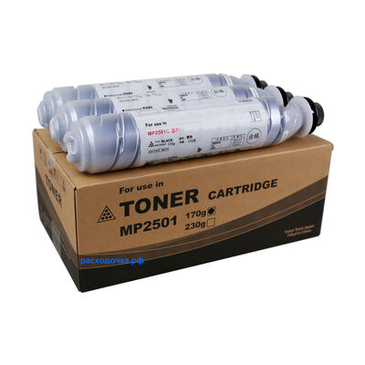 Картридж MP-2501C для Ricoh Aficio MP-1813L, MP-2013L, MP-2001L, MP-2501L (тонер Mitsubishi) фото