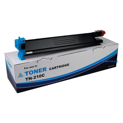 Картридж TN-210C для Konica Minolta Bizhub C250, C252, C252P, C250P (тонер Tomoegawa) голубой