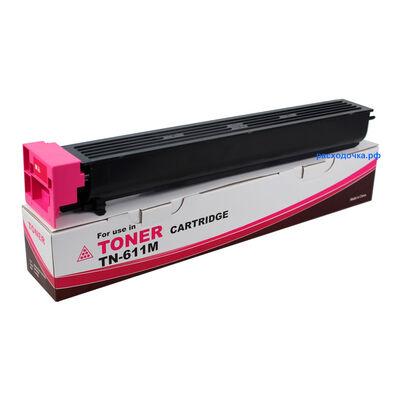 Картридж TN-611M для Konica Minolta Bizhub C451, C550, C650 (тонер Tomoegawa) пурпурный фото