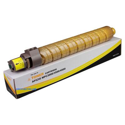 Картридж для Ricoh Aficio MP-C3500, MP-C4500 (тонер Mitsubishi) желтый фото