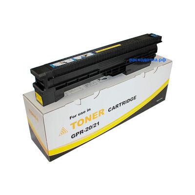 Картридж C-EXV16, C-EXV17 для Canon imageRUNNER C4580i, C4080, iR-C4080 (тонер Mitsubishi) желтый