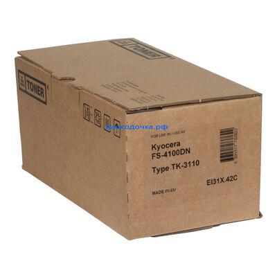Картридж TK-3110 для Kyocera FS-4100, FS-4100DN с чипом 420 г. 15500 стр. (Elfotec) фото