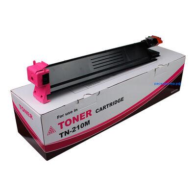 Картридж TN-210M для Konica Minolta Bizhub C250, C252, C252P, C250P (тонер Tomoegawa) пурпурный фото