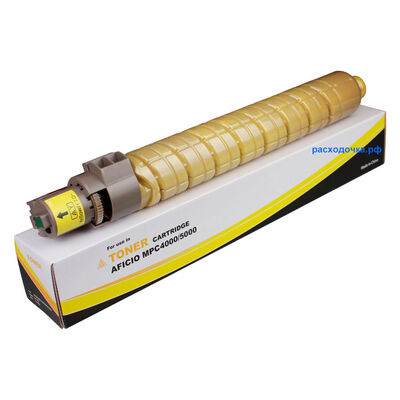 Картридж для Ricoh Aficio MP-C4000, MP-C5000, MP-C4501, MP-C5501 (тонер Mitsubishi) желтый фото