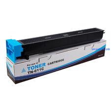 Картридж TN-611C для Konica Minolta Bizhub C451, C550, C650 (тонер Tomoegawa) голубой