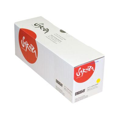 Картридж 054Y для Canon i-SENSYS MF643Cdw, MF641Cw, MF645Cx, LBP-620, MF643, MF645, LBP-621, MF641 1200 стр. желтый фото