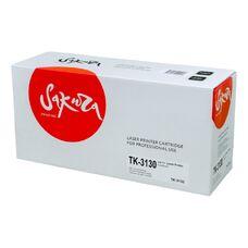 Картридж TK-3130 для Kyocera Fs-4200dn, Fs-4300dn, Ecosys M3550idn Sakura +чип+бункер