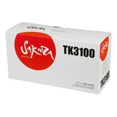 Картридж TK-3100 для Kyocera Ecosys M3040dn, Fs-2100dn, Fs-2100, M3540dn Sakura +бункер