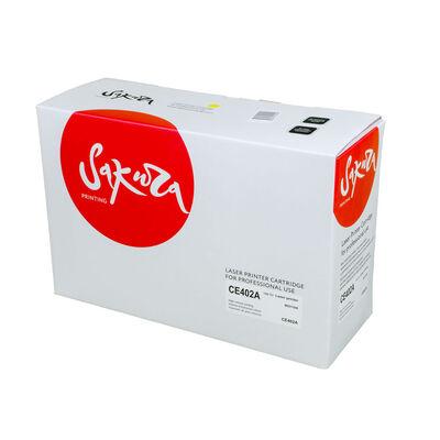 Картридж CE402A для HP LaserJet M551, M570dn, M70dw, M551dn, M570 желтый фото