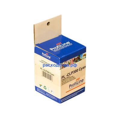 Картридж CLP-C300A для Samsung CLP-300, CLX-2160, CLP-300n с чипом голубой фото