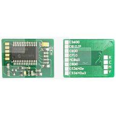 Чип картриджа 44059133 для OKI C810, C830 желтый