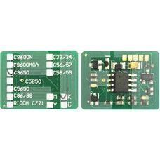 Чип картриджа 42918916 для OKI C9600, C9650, C9850, C9800 черный