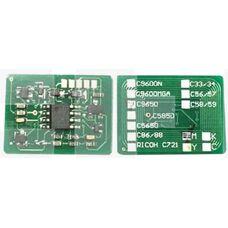 Чип картриджа 43865721, 43865722, 43865723, 43865724 для OKI C5950, C5850, MC560, C5850dn CMYK