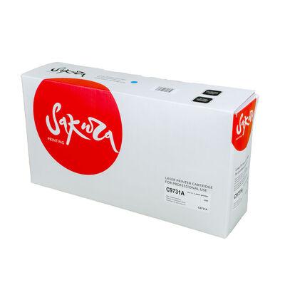 Картридж C9731A для HP Color LaserJet 5550, 5550n, 5500, 5550dn голубой фото