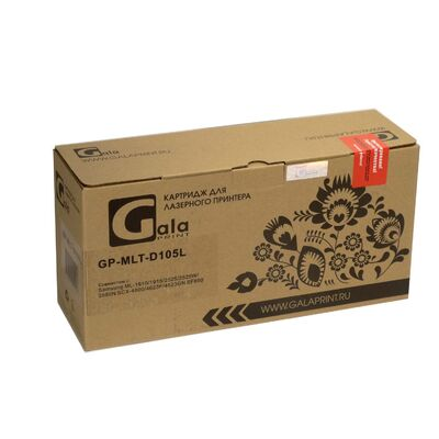 Картридж GP-MLT-D105L для Samsung SCX-4600, SCX-4623F, SCX-4623, ML-2525, SCX-4623FN GalaPrint 2500 стр. фото