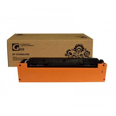 Картридж CF400A для HP Color LaserJet M277n, M252n, M277dw, M252dw GalaPrint черный фото