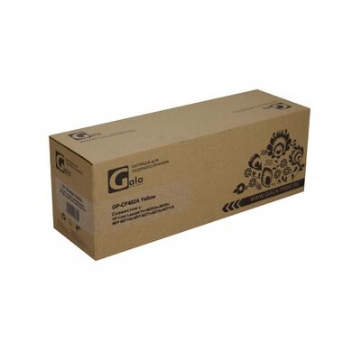 Картридж CF402A для HP Color LaserJet M277n, M252n, M277dw, M252dw GalaPrint желтый фото