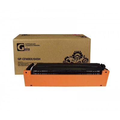 Картридж CF400X, Canon 045H для HP Color LaserJet M277n, M252n, M277dw, M252dw GalaPrint черный