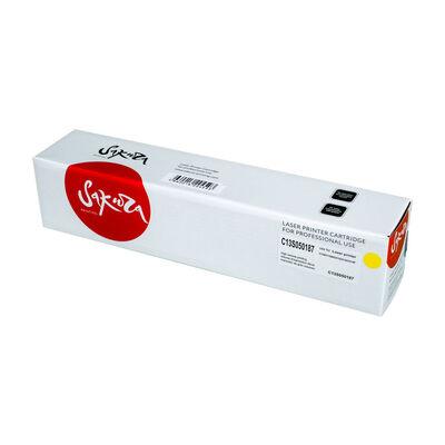 Картридж C13S050187 для EPSON Aculaser C1100, CX11NF, CX11N 4000стр. желтый фото