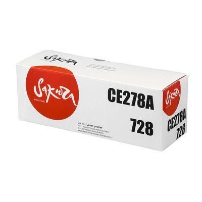 Картридж CE278A для HP LaserJet M1536dnf, Canon MF4410, MF4400, MF4550D, MF4430 2100 стр. Sakura фото
