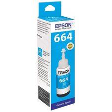 Контейнер с голубыми чернилами C13T66424A для EPSON L210, L120, L132, L355, L222, L110, L366, L3050, L1300