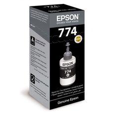 Контейнер с черными пигментными чернилами C13T77414A для Epson L1455, M200, M100 (140мл)