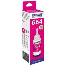 Контейнер с пурпурными чернилами C13T66444A для EPSON L210, L120, L132, L355, L222, L110, L366, L3050, L1300