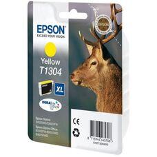 Картридж T1304 (C13T13044012) для Epson Stylus SX525WD, SX535WD, WorkForce WF-7525 экстраповышенной емкости желтый