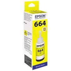 Контейнер с желтыми чернилами C13T66444A для EPSON L210, L120, L132, L355, L222, L110, L366, L3050, L1300