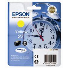 Картридж C13T27044022 для Epson WorkForce WF-7210DTW, WF-7710DWF, WF-7610DWF с желтыми чернилами DURABrite Ultra (300 стр.)