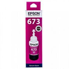 Контейнер с пурпурными чернилами C13T67334A для EPSON L805, L800, L1800, L850, L810