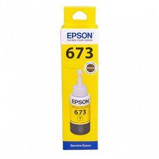 Контейнер с желтыми чернилами C13T67344A для EPSON L805, L800, L1800, L850, L810